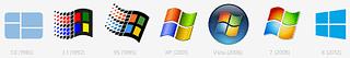 Evolution of the Microsoft Windows Logo